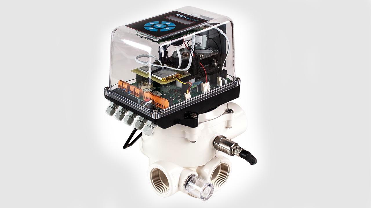 MIDAS Pool Products – Vollautomatisches Rückspülventil MIDA.mat