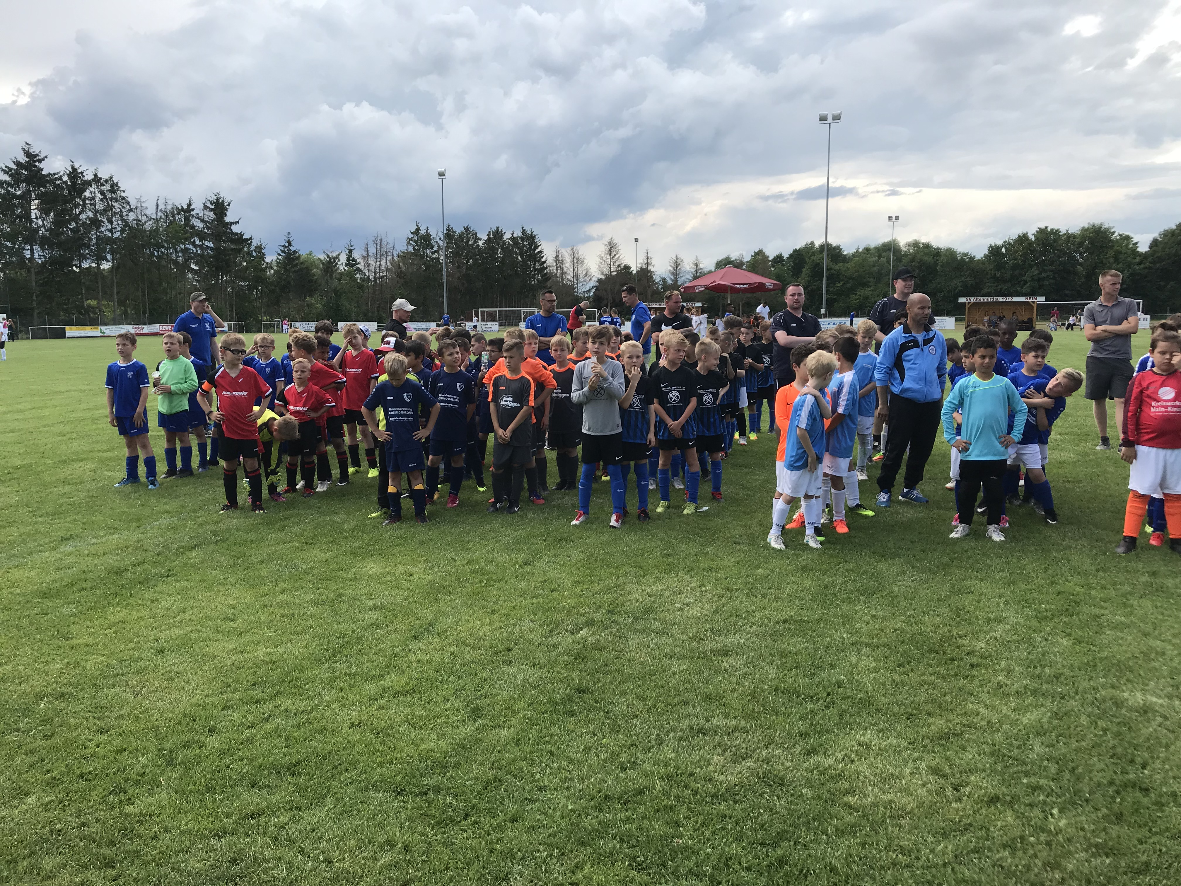 F-Jugend Siegerehrung