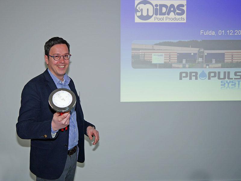 Jean-Louis Matton präsentiert LEDs aus dem Hause Propulsion Systems